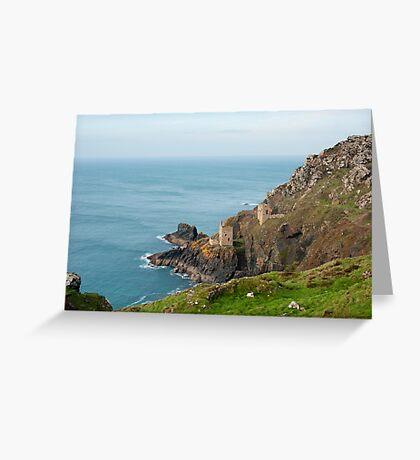 Crown Mines, Cornwall Greeting Card