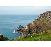 Crown Mines, Cornwall Photographic Print