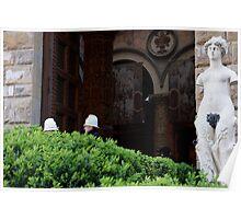 Firenze-Piazza della Signoria Poster