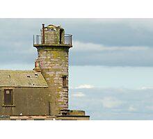 Derelict harbour beacon Photographic Print