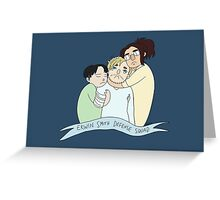 Erwin Smith Defense Squad Greeting Card