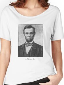 Abraham Lincoln Women's Relaxed Fit T-Shirt