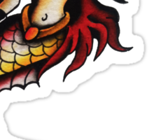 Hot Wet Tail Sticker