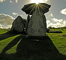 Pentre Ifan burial chamber of the stone age by Kawka