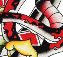 Snake & Dagger 2 Sticker
