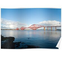View of the Forth Rail Bridge Poster