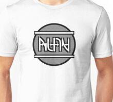 Alan ambigram Unisex T-Shirt