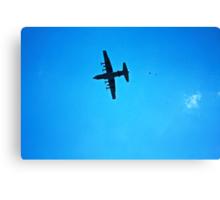 C-130 Drop  Canvas Print