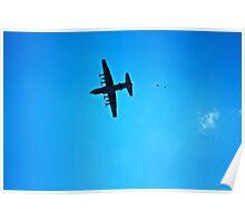 C-130 Drop  Poster
