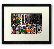 Bubble Guns for $5, Broadway, New York City Framed Print