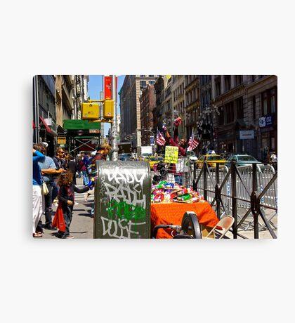 Bubble Guns for $5, Broadway, New York City Canvas Print
