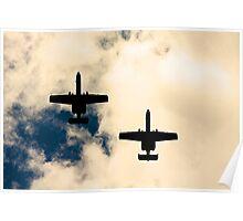 A-10 Wingmen Poster