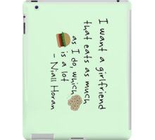 Niall Horan Quote iPad Case/Skin