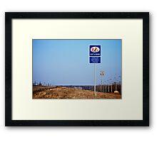 Cavalier Air Force Base  Framed Print