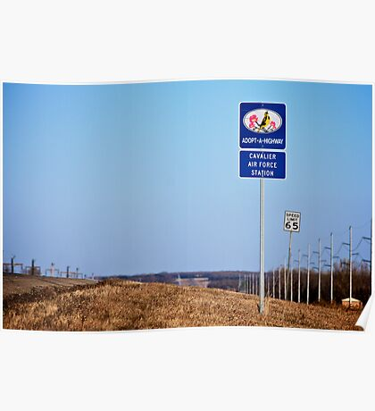 Cavalier Air Force Base  Poster