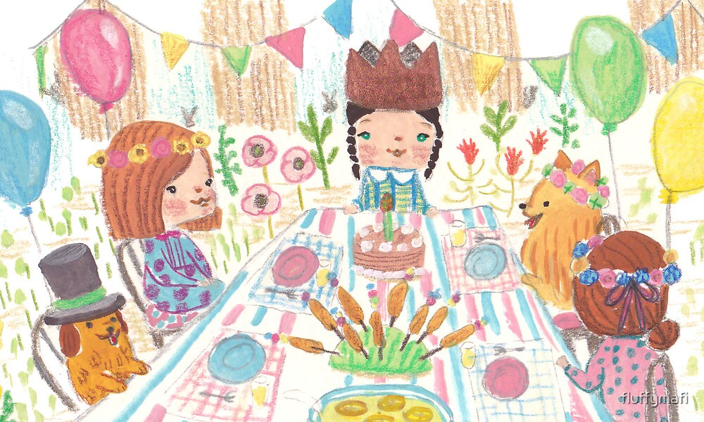 Pajama Party by fluffymafi