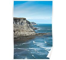 North Yorkshire coast Poster