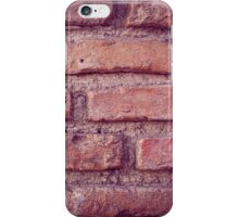 Bricks vintage texture iPhone Case/Skin