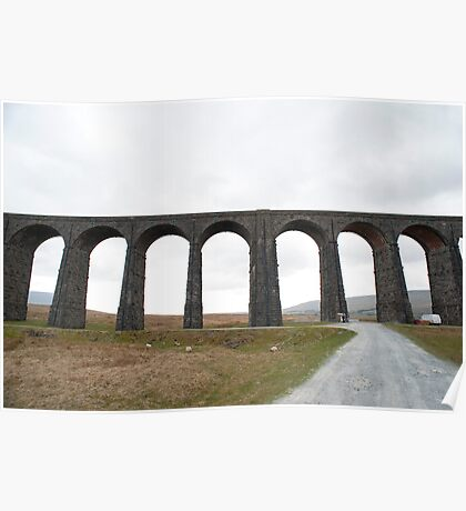 Ribblehead Railway viaduct Poster