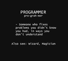 Programmer Definition Hoodie