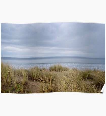 stormy 7 mile beach Poster