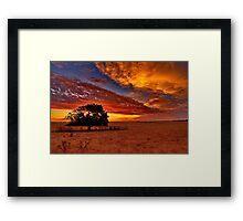 """Sundown On Cochranes"" Framed Print"