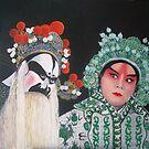 Beijing  Opera Characters 5 by Joseph Barbara