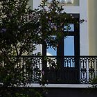 Elegant Tropical Balcony - the Beautiful Colonial Architecture of Old San Juan, Puerto Rico by Georgia Mizuleva
