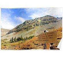 Natural Hot Springs Colorado Poster