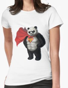 Super Panda Series  - 1 Womens Fitted T-Shirt