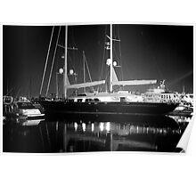 Marina Del Rey Ship Poster