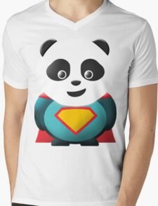 Super Panda Series  - 2 Mens V-Neck T-Shirt