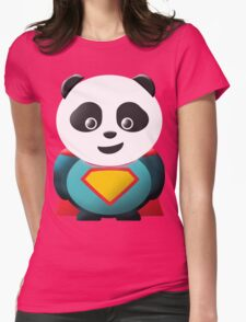 Super Panda Series  - 2 Womens Fitted T-Shirt