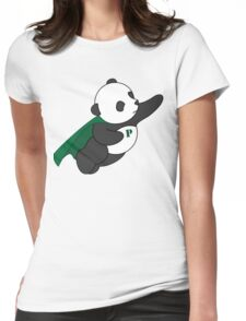 Super Panda Series - 3 Womens Fitted T-Shirt