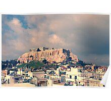 Parthenon, the Acropolis of Athens, Greece Poster