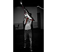 Guitar Rock  Photographic Print