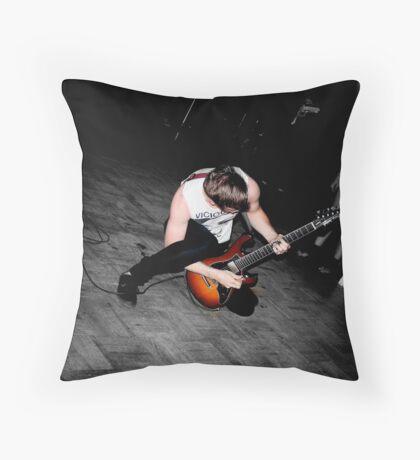 Vicious Guitar Throw Pillow