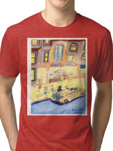 A Night On The Town Tri-blend T-Shirt