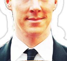 Cumberbitch shirt Sticker