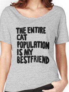 Cat Population Women's Relaxed Fit T-Shirt