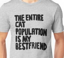 Cat Population Unisex T-Shirt