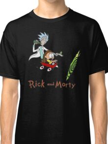 Calvin and Hobbes, Rick and Morty Classic T-Shirt