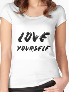 Love Yourself - Justin Bieber Women's Fitted Scoop T-Shirt
