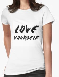 Love Yourself - Justin Bieber Womens Fitted T-Shirt