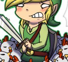 Zelda chicken Sticker
