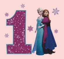 Frozen Anna & Elsa 1st Birthday by sweetsisters