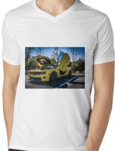 Transformers BumbleBee Mens V-Neck T-Shirt