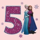 Frozen Anna & Elsa 5th Birthday by sweetsisters