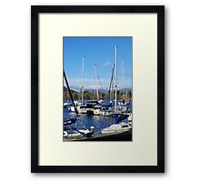 A Trot of Yachts - Windermere Framed Print