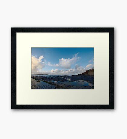 Newtrain Bay - Cornwall Framed Print